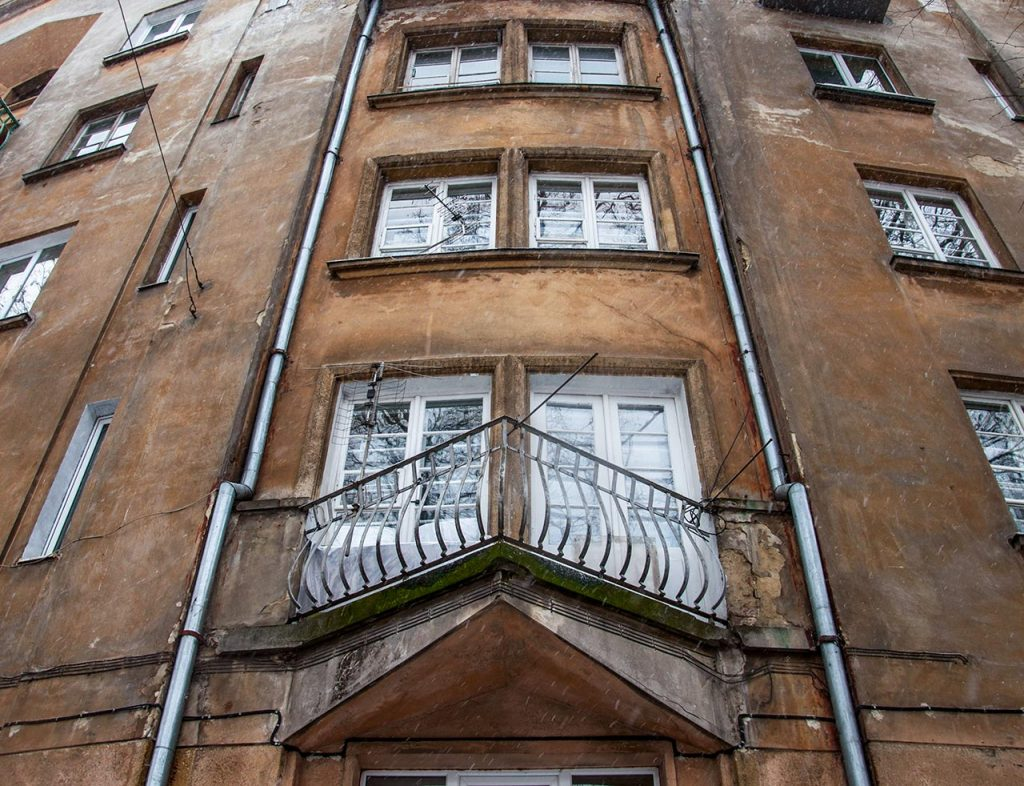 Житловий блок для працівників Пенсійного закладу службовців на вул. Київська, 24-28 а
