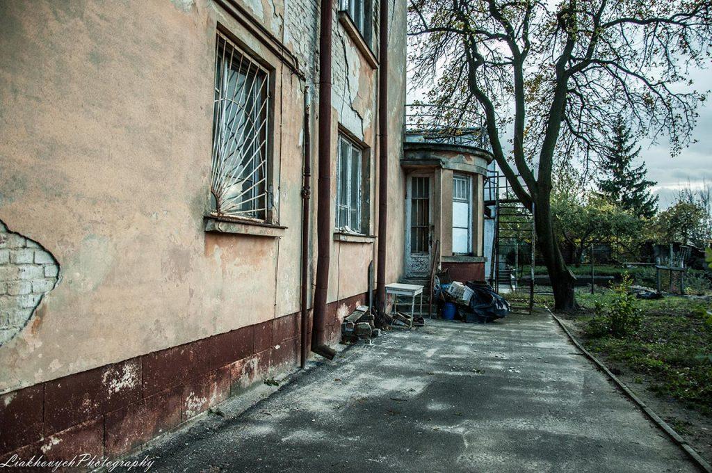 північна частина вул. Ірини Вільде