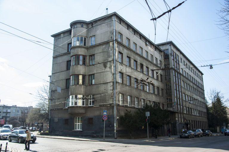 Будинок Установи соціального страхування (Факультет мікробіології Медуніверситету)