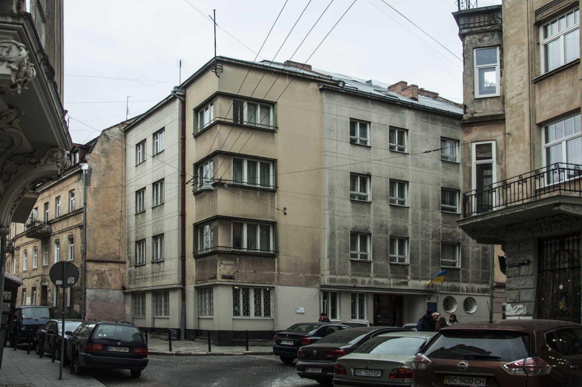 Будинок на вул. Ліста, 1