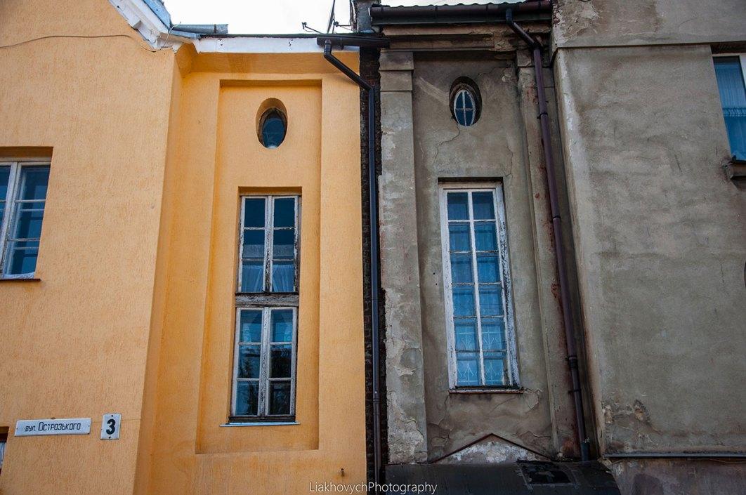 будинки по вул. Острозького